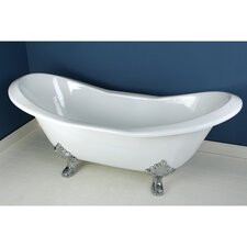 "Aqua Eden 72"" x 30"" Freestanding Bathtub"