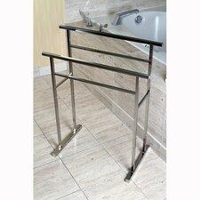 Edenscape Free Standing Pedestal Towel Rack