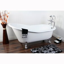 "Aqua Eden 61"" x 30"" Freestanding Bathtub"