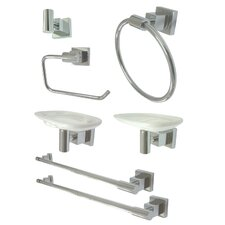 <strong>Kingston Brass</strong> Claremont 7 Piece Bathroom Hardware Set