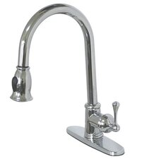 Vintage Gourmetier Pull-Down Single Handle Kitchen Faucet
