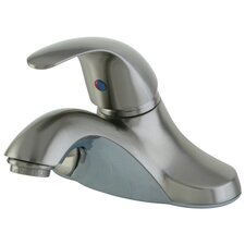 <strong>Kingston Brass</strong> Legacy Single Handle Bathroom Faucet with ABS Pop-Up Drain