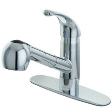 Century Gourmetier Single Handle Pull-Out Spray Kitchen Faucet