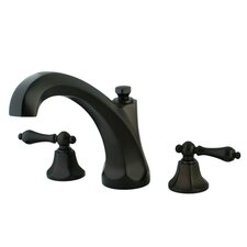 <strong>Kingston Brass</strong> Metropolitan Two Handle Roman Tub Filler