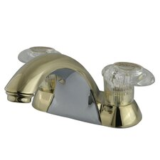 Naples Double Handle Centerset Bathroom Sink Faucet
