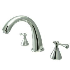 English Country Two Handle Roman Tub Filler