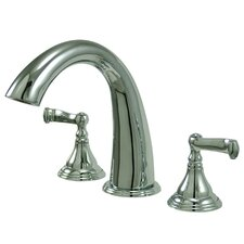 <strong>Kingston Brass</strong> Royale Double Handle Roman Tub Filler