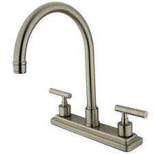 Manhattan Double Handle Kitchen Faucet