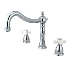 Heritage Double Handle Roman Tub Filler