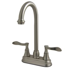 <strong>Kingston Brass</strong> Century Two Handle Centerset Bar Kitchen Faucet
