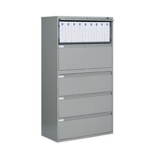 "<strong>Global Total Office</strong> 9300 Series 36"" W Five-Drawer Lateral File"