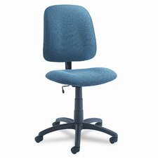 <strong>Global Total Office</strong> Goal Armless Low-Back Pneumatic Task Chair