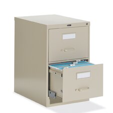 "<strong>Global Total Office</strong> 25"" D Two-Drawer Vertical Legal File"