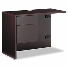 "<strong>Global Total Office</strong> Genoa 29"" H x 40"" W Box/File Drawer Pedestal Left Desk Return"