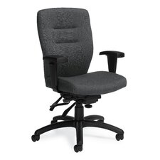 <strong>Global Total Office</strong> Synopsis Mid-Back Multi Office Chair with Height Adjustable Arms