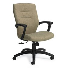 <strong>Global Total Office</strong> Synopsis Mid-Back Office Chair with Fixed Back