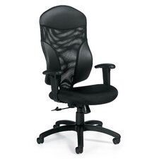 <strong>Global Total Office</strong> Tye High-Back Pneumatic Office Chair