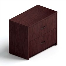 <strong>Global Total Office</strong> Genoa Two-Drawer Lateral File