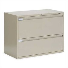 "<strong>Global Total Office</strong> 9300 Series 42"" W Two-Drawer Lateral File"