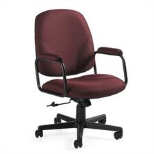 <strong>Global Total Office</strong> Solo High-Back Pneumatic Office Chair