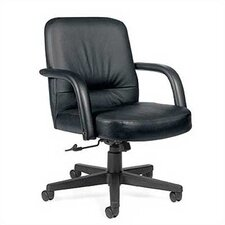 <strong>Global Total Office</strong> Low-Back Leather Executive Office Chair