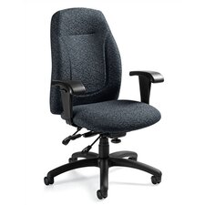 Mid-Back Multi-Tilter Office Chair with T-Arms