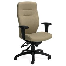 <strong>Global Total Office</strong> Synopsis High-Back Multi Office Chair with Height Adjustable Arms