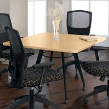 <strong>Global Total Office</strong> Square Top Laminate Meeting Table
