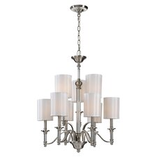 <strong>Ren-Wil</strong> Hampton 9 Light Chandelier