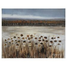 Serene Meadow by Dominic Lecavalier Painting Print on Canvas