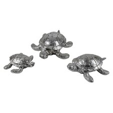 Turtle Family Statue (Set of 3)