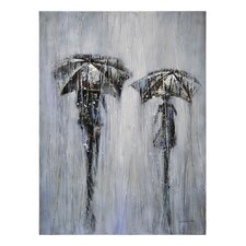 Stormy Day Canvas Wall Art