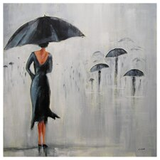 <strong>Ren-Wil</strong> Parapluie Canvas Wall Art