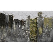 Fog City by Claudia Guimond Painting Print on Canvas
