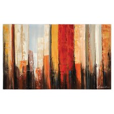 New York Morning by Dominic Lecavalier Painting Print on Canvas
