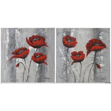 <strong>Ren-Wil</strong> Primavera Canvas Wall Art (Set of 2)