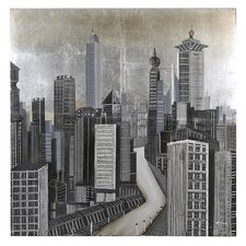 <strong>Ren-Wil</strong> City of Dreams Canvas Wall Art