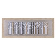 White Forest Wall Art