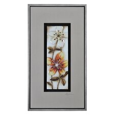 Fall Flowers I by Dominic Lecavalier Framed Painting Print
