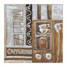 Cappuccino Canvas Wall Art