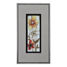 Fall Flowers II by Dominic Lecavalier Framed Painting Print