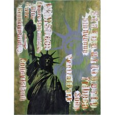 First Amendment by Giovanni Russo Original Painting on Canvas