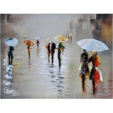 Rawhide Rain by Giovanni Russo Original Paiting on Canvas