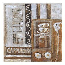 Cappuccino by Olivia Salazar Painting Print on Canvas
