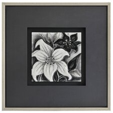 Shades of Gray II by Dominic Lecavalier Framed Painting Print