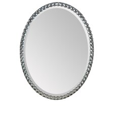 <strong>Ren-Wil</strong> Beveled Wall Mirror with Silver Plating