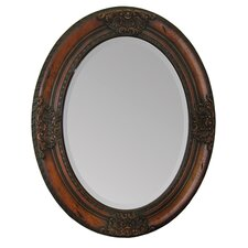 <strong>Ren-Wil</strong> Solid Wood Frame Mirror in Cherrywood