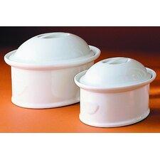 Porcelain Oval Casserole