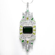 Emerald City White Bronze Elegance Pendant