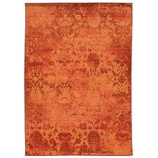 Expressions Orange Oriental Rug